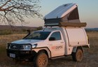 Red Sands Campers Broome Perth Darwin 2person 4wd rooftop Toyota hilux
