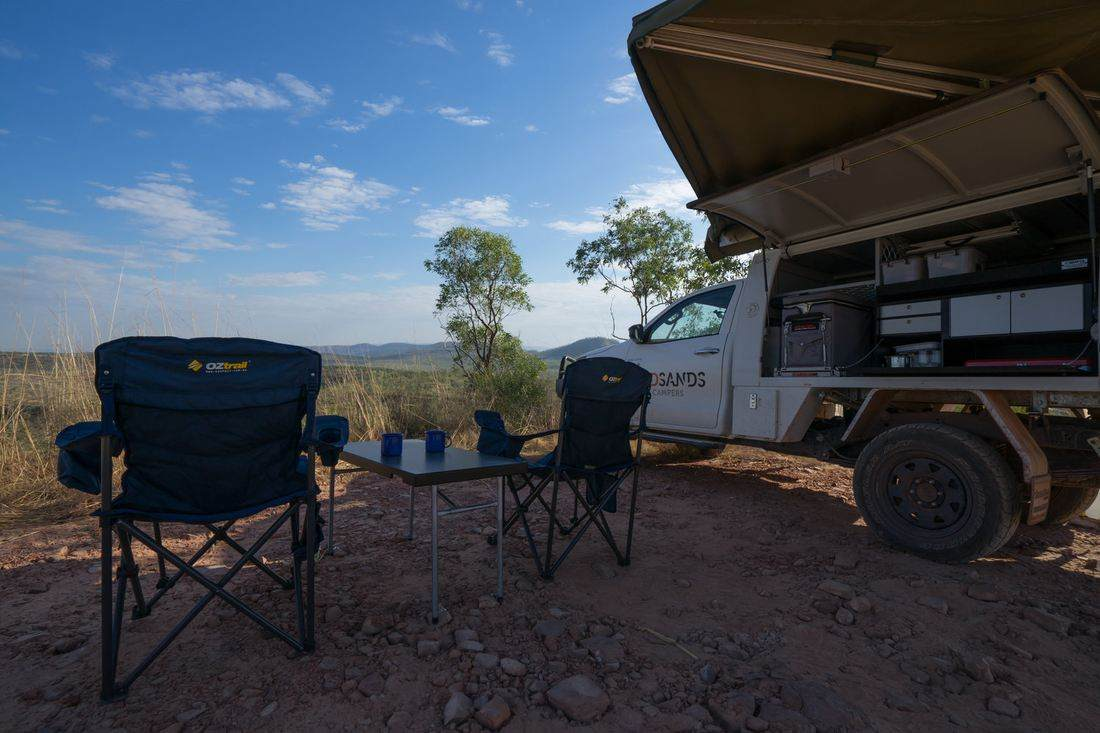 Red Sands Campers Australia hire 4wd rooftop tent campervan